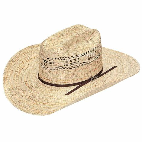 Twister Bangora Straw w/4.25 Brim Precreased Cowboy Hat