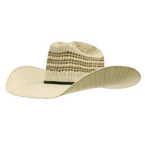 Twister Bangora Straw with 4.5 Brim Precreased