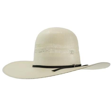 Twister Bangora Straw 4.5 Brim Open Crown Cowboy Hat