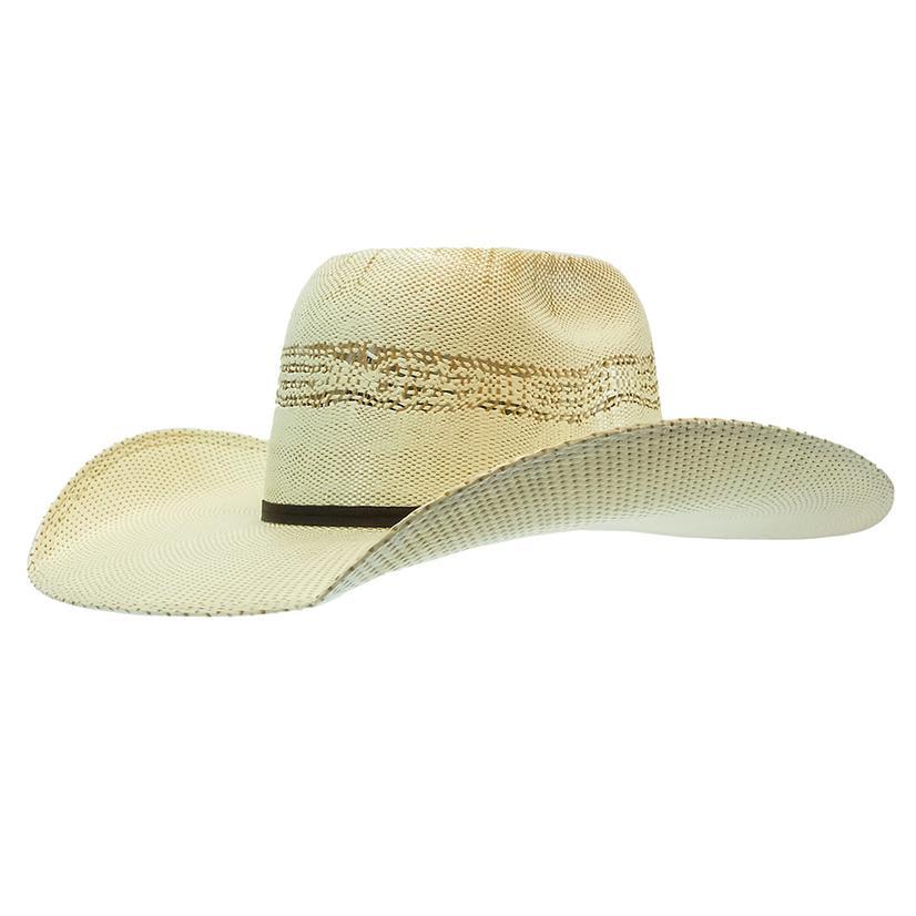 c0cbca0e3a6da Twister Kids Two Tone Bangora Straw Hat