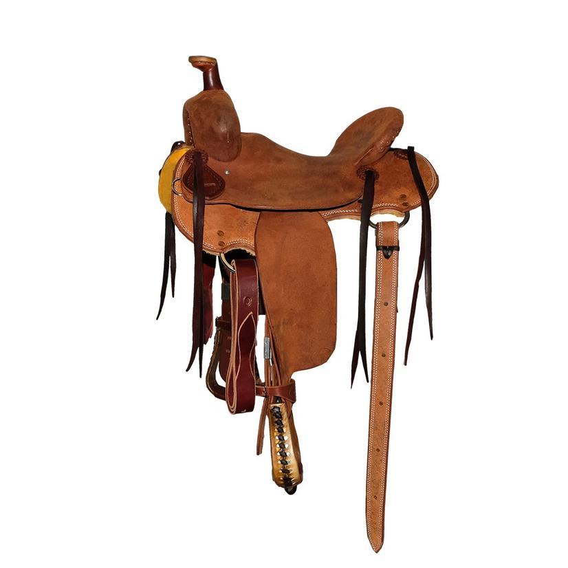 Stt Strip Down Kid ' S Western Saddle