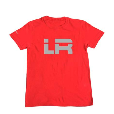 Lets Rope Red & Grey Logo Tee