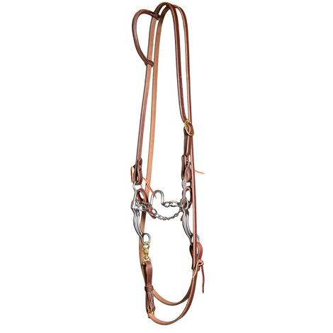 STT Roping Bridle Set with Ported Chain Bit