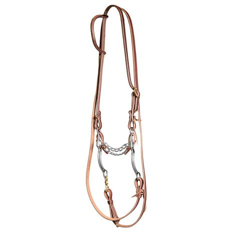 STT Roping Bridle Set with Straight Chain