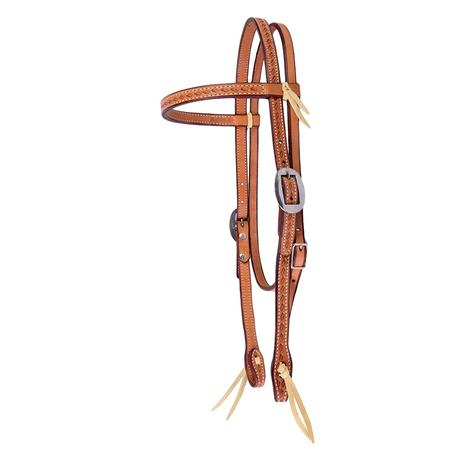 STT Single Weave Browband Headstall