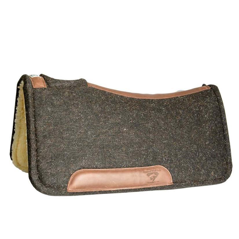 Diamond Wool Contoured Tough Pad With Fleece 32x32x1