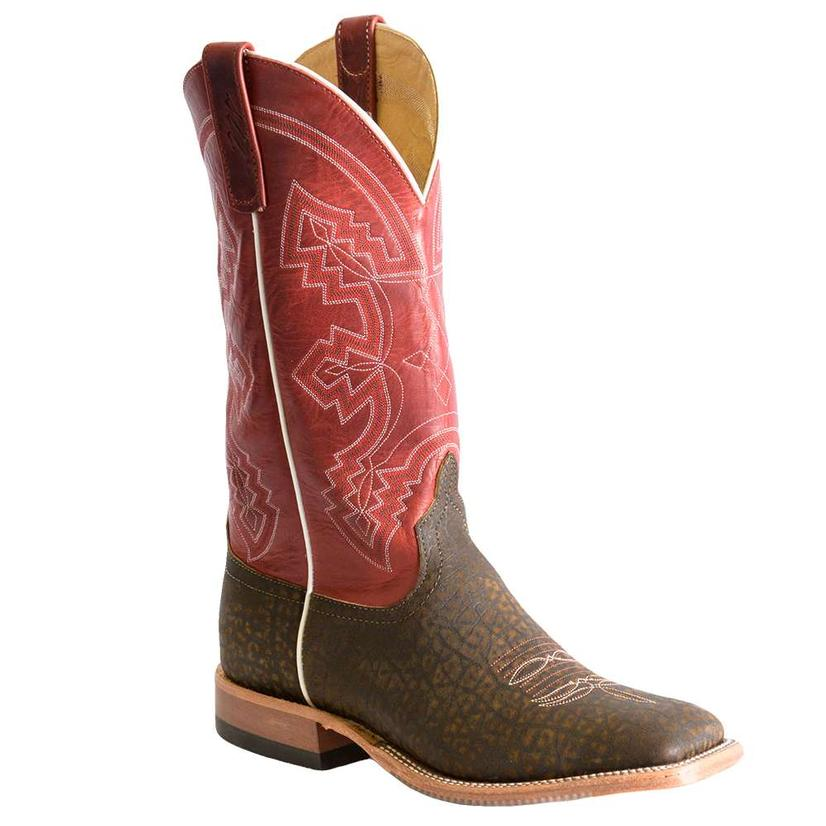 Anderson Bean Mens Hungry Hippo Red Fools Goat Western Boots