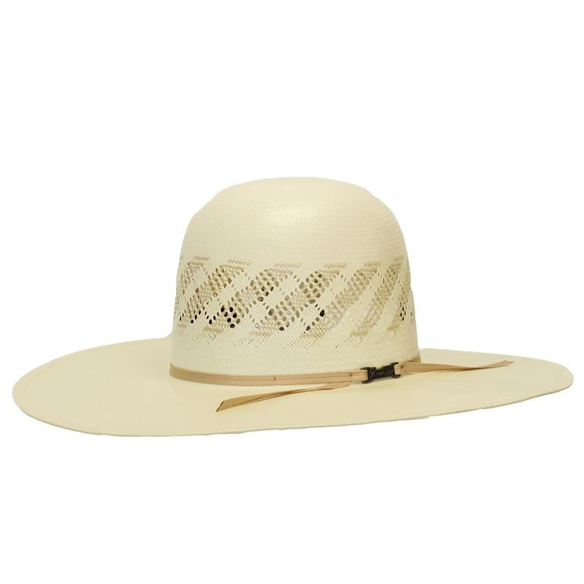 American Hat Company 4.5 Brim Open Crown Straw Hat