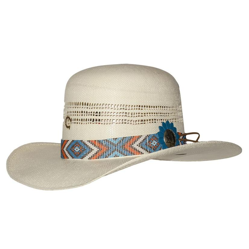 Charlie 1 Horse Fast Livin Southwest Band Straw Hat