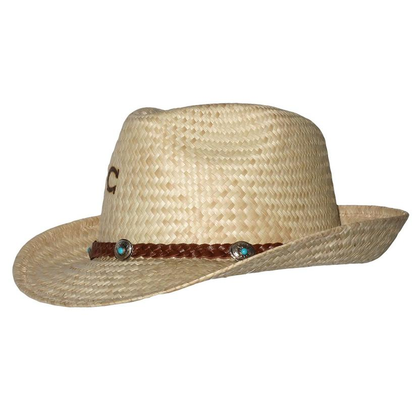 Charlie 1 Horse Taxco N Fedora Style Straw Hat