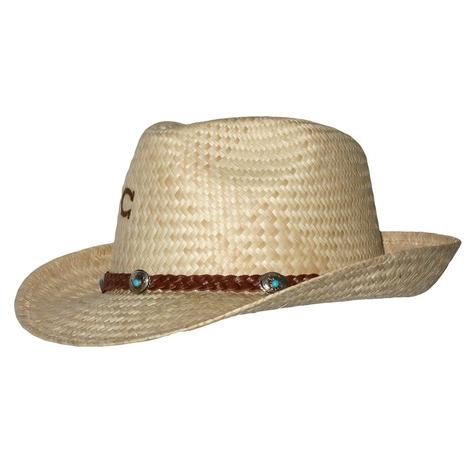 35560613194 Charlie 1 Horse Taxco N Fedora Style Straw Hat