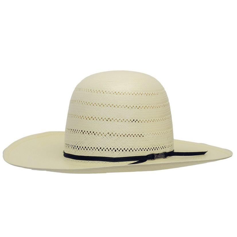 American Hat Cowboy 4.25in Brim Open Crown Straw Hat