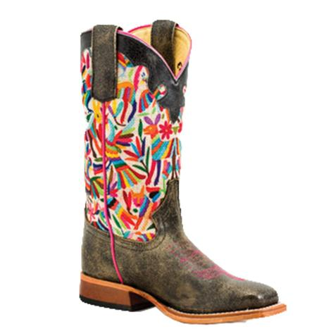 Macie Bean Girls Otomi Party Western Boots