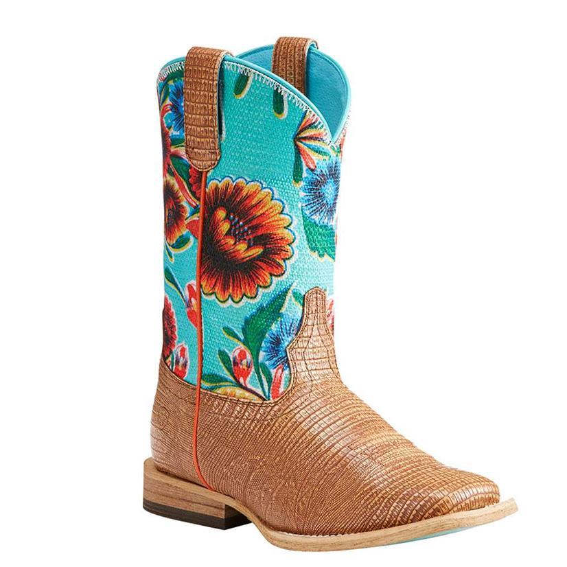 Ariat Girls Gringa Floral Boots