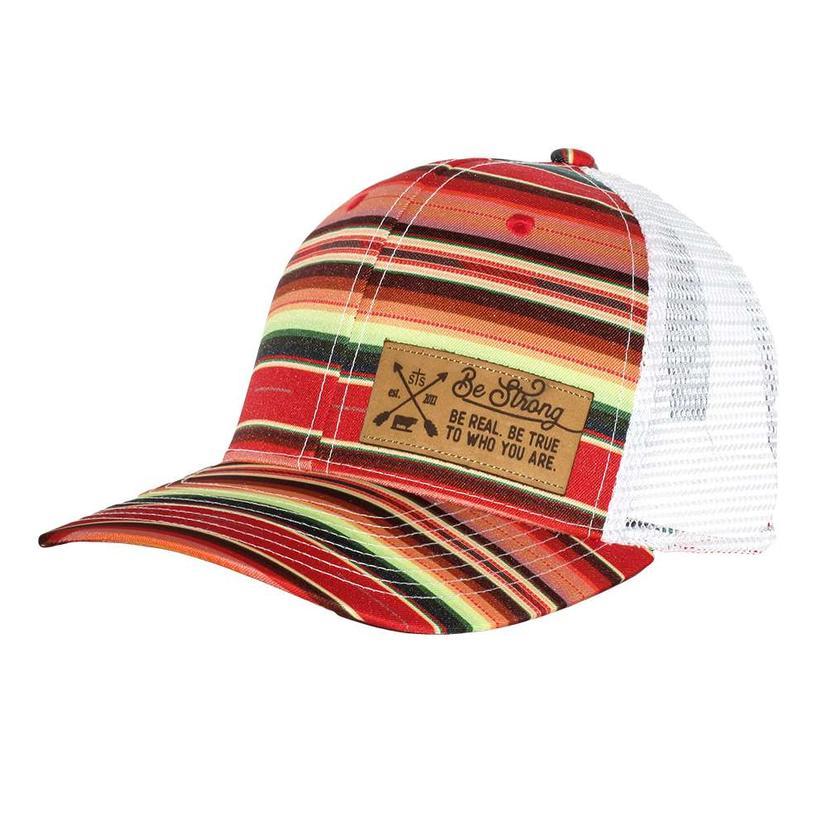 e08ead056 Serape Patch Mesh Back Cap