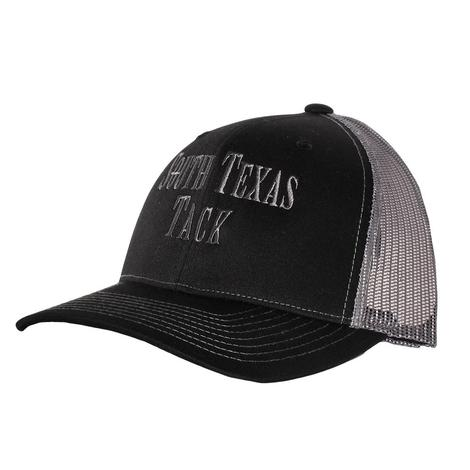 STT Black Grey Mesh Back Cap
