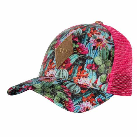 STT Hot Pink Succulent Patch Cap