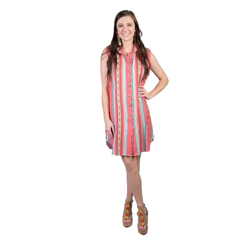 buying now competitive price low price Sleeveless Button Down Dress Duster