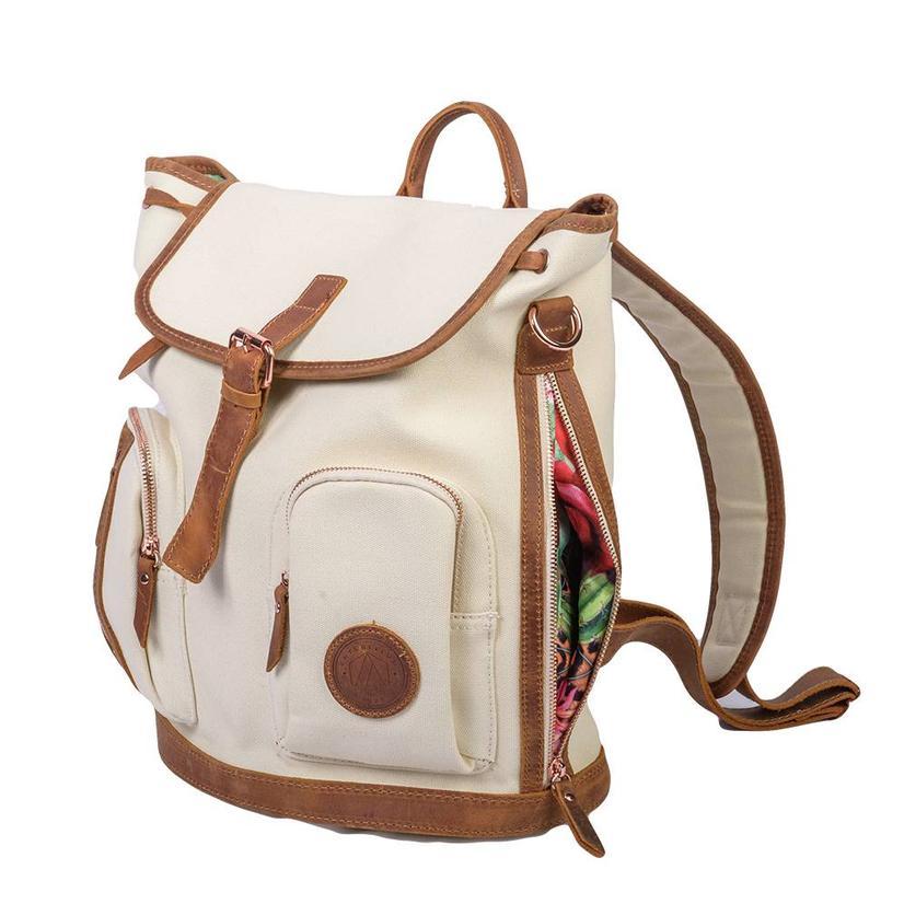 Antebellum Clovelly Backpack CREAM
