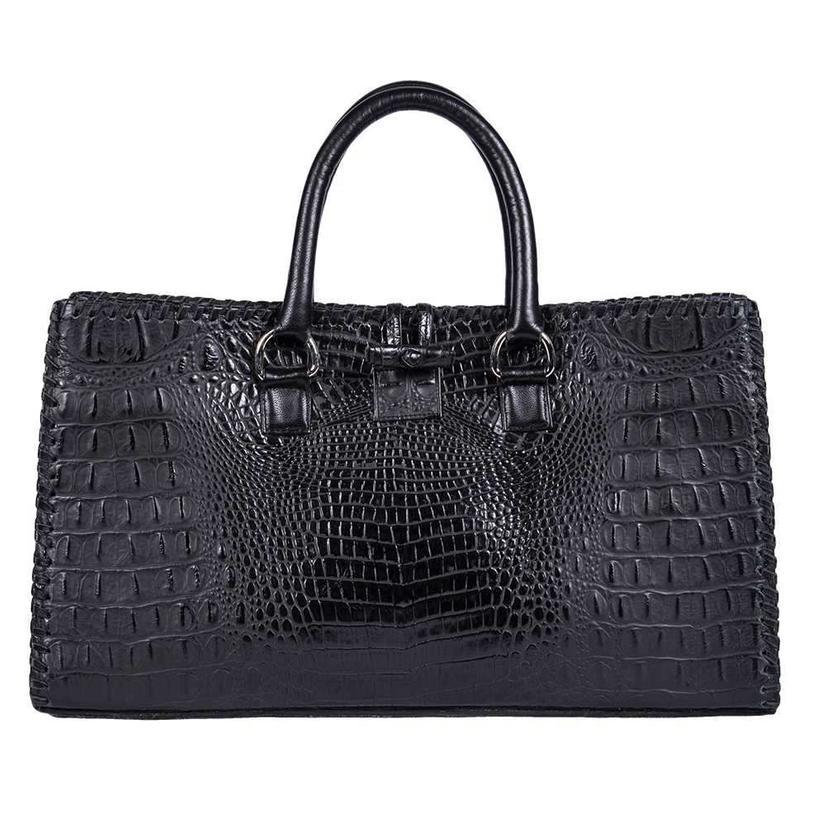 Juan Antonio Black Hornback Tote Bag