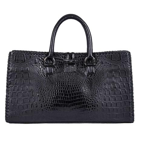 Juan Antonio Black Hornback Tote Bag