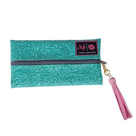 Turquoise Dream Makeup Bag - Mini