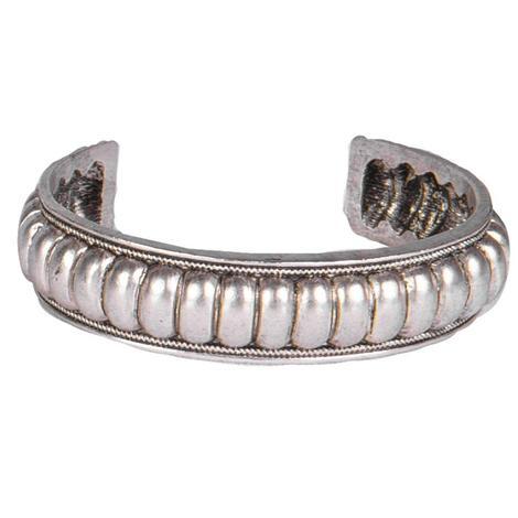 Wide C Cuff Bracelet