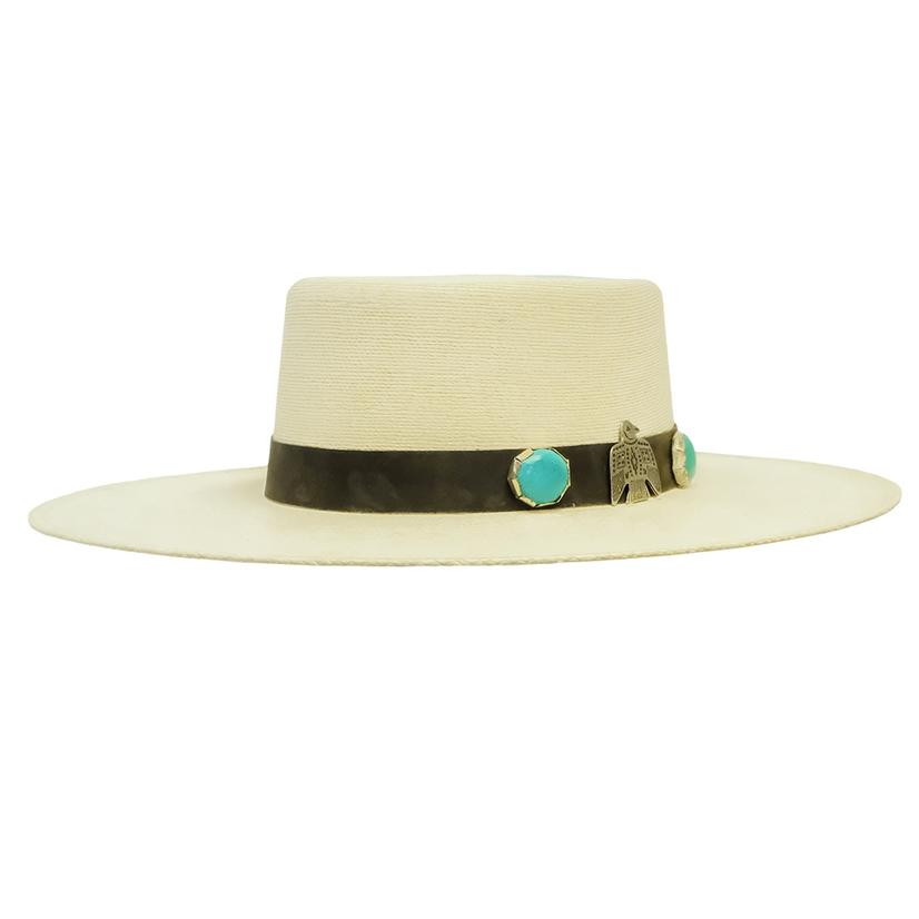 Atwood Nevada Thunderbird Natural Straw Hat