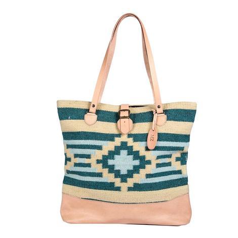 Josefina Paco Emerald Diamond Marisol Tote Bag