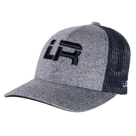 Let's Rope Heather Navy LR Meshback Cap
