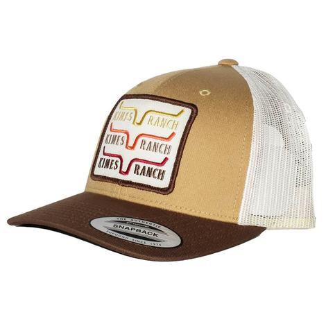 1978 Kimes Ranch Tan Gold Trucker Cap