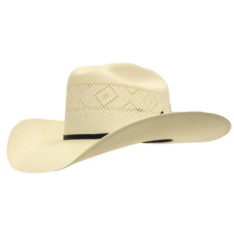 Stetson Saddleman 10X with Drilex 4.25 Brim Natural Straw Hat