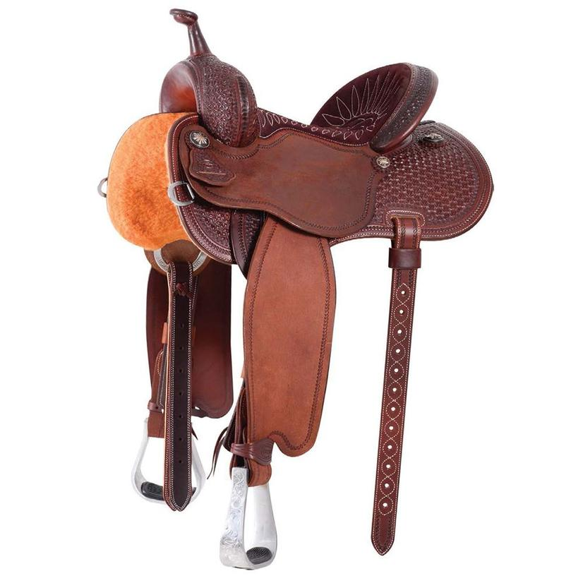 Martin Saddlery Fearless Halfbreed Snowflake Barrel Saddle