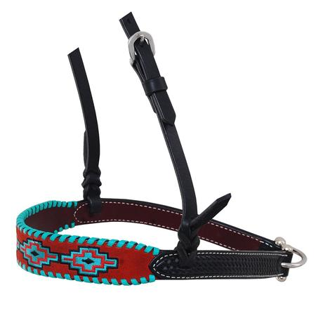 Rafter T Ranch Embroidered Aztec Noseband