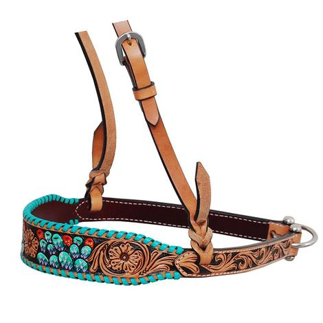 Rafter T Ranch Painted Cactus Noseband