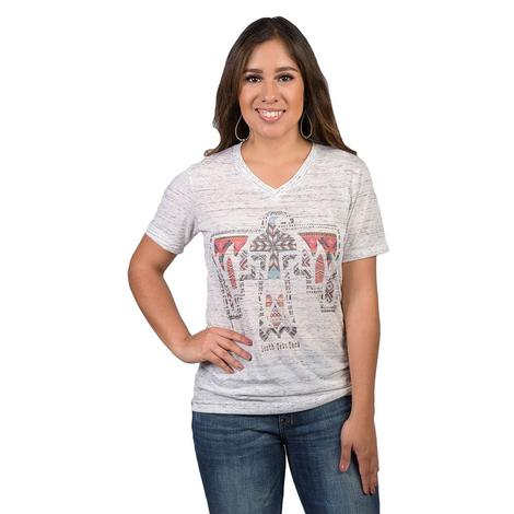 STT Thunderbird Ladies White Tee