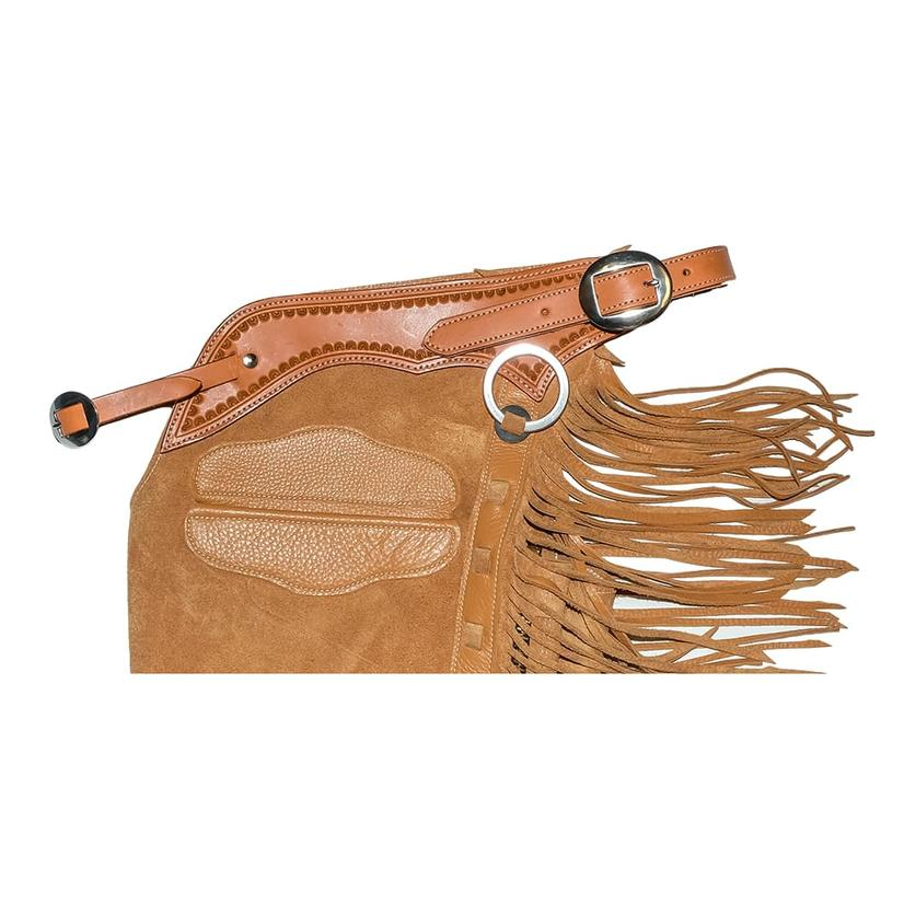 STT Roughout Versatility Chap with Shell Border and Pocket HONEY