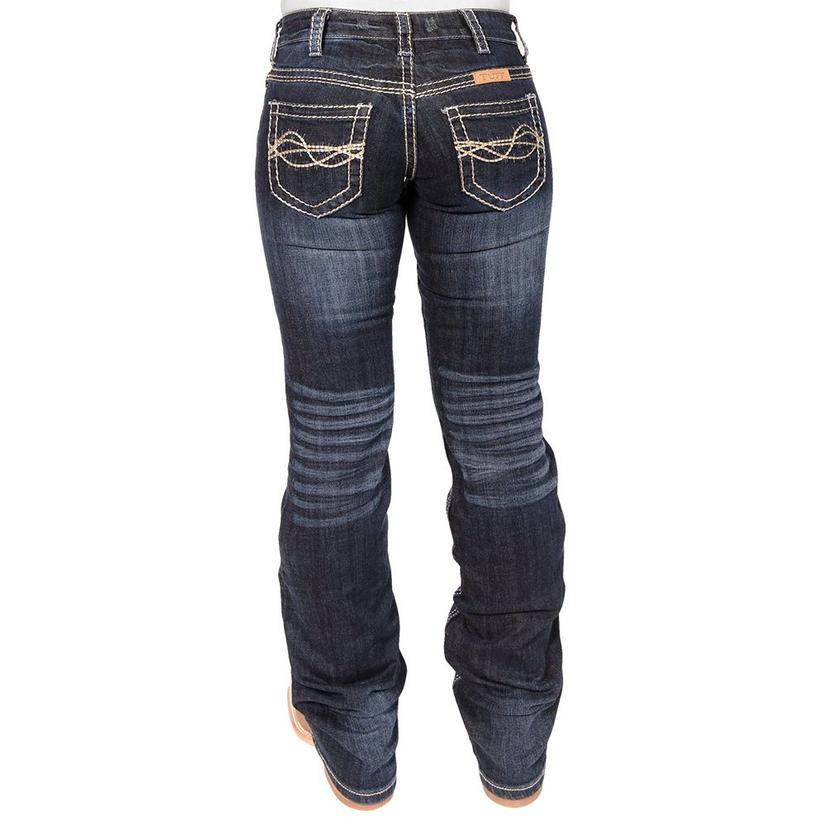 Cowgirl Tuff No Limits Dark Wash Jeans