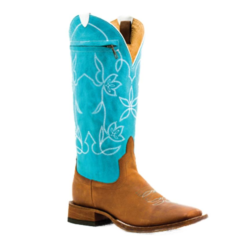 Macie Bean Womens Pocket Top Again Western Boots