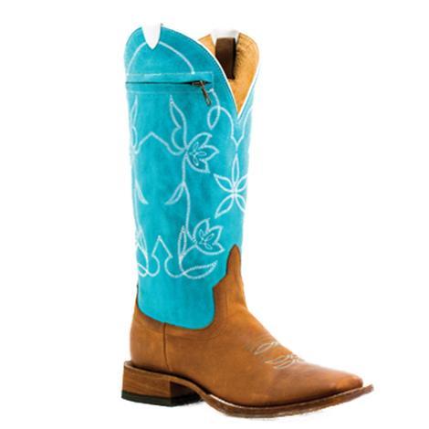 e94588b84 Macie Bean Womens Pocket Top Again Western Boots