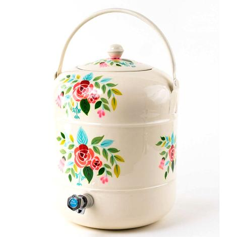 One Hundred 80 Degrees Floral Drink Dispenser
