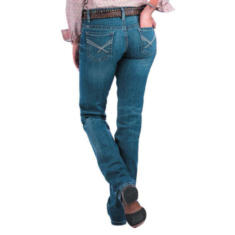 Cinch Ada Medium Wash Mid Rise Relaxed Jean