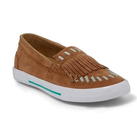Reba Kiowa Sand Suede Shoes
