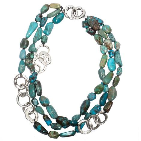 Love Tokens Turquoise Necklace