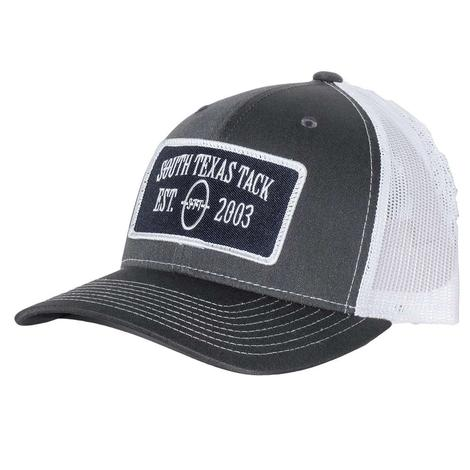 STT Charcoal Navy Patch Cap