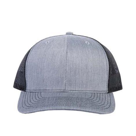 Blank Heather Grey Cap