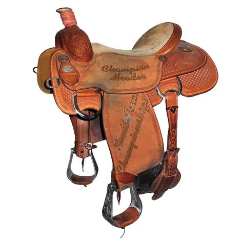 Martin Team Roping USTRC 15in Use Saddle