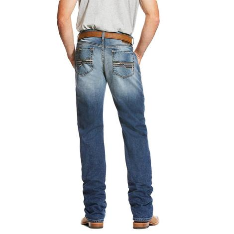 Ariat M4 Cinder Relaxed Boot Cut Men's Jeans