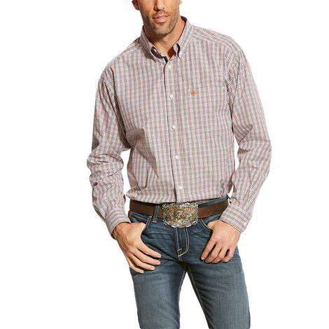 Ariat Calahan Multi Plaid Long Sleeve Men's Shirt