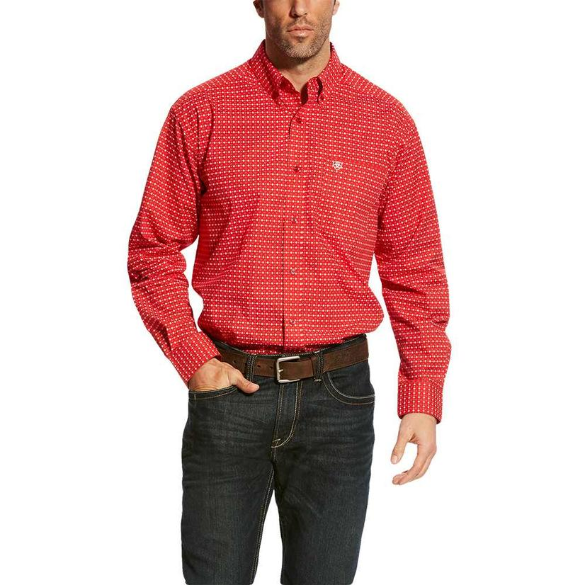 Ariat Carmine Print Long Sleeve Men's Shirt